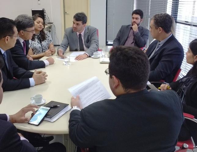 OAB-MA solicita ao Banco do Brasil melhorias no atendimento dos advogados