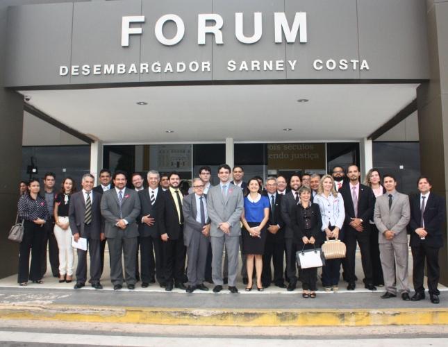 Conselho Seccional da OAB-MA realiza atividade no Fórum Desembargador Sarney Costa