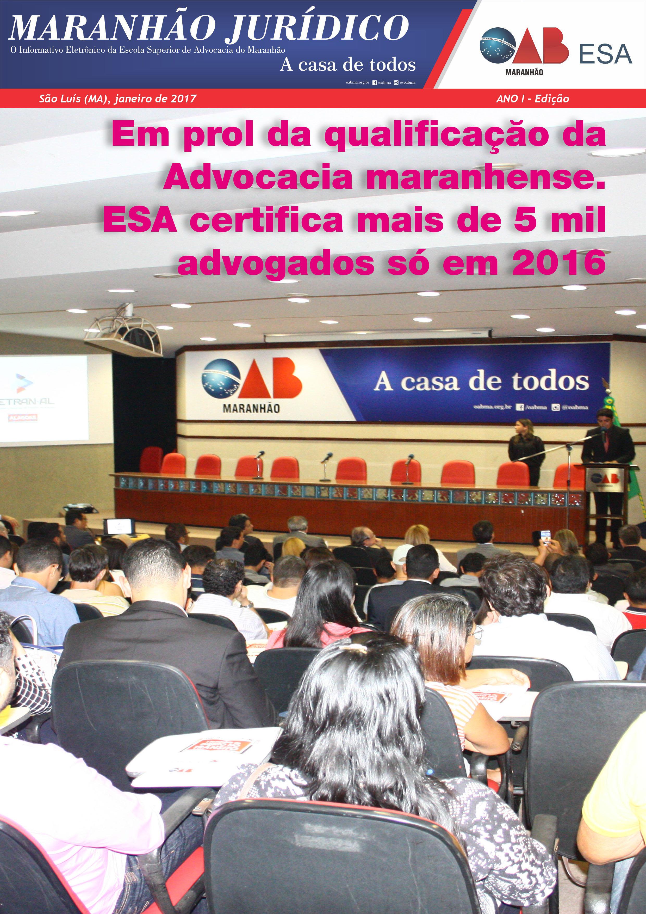 Informativo Maranhão Jurídico