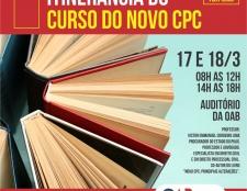 CURSO ITINERANTE DE ATUALIZAÇÃO EM PROCESSO CIVIL DA OAB-MA CHEGA À SUBSEÇÃO DE CAXIAS